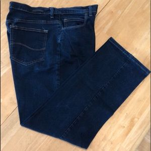 Lee Relaxed fit wide leg jeans
